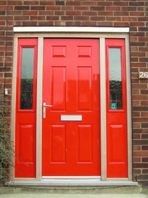 Marysville front door
